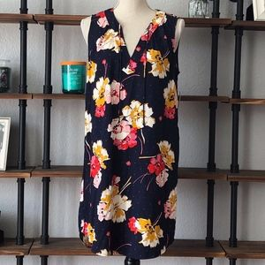 OLD NAVY FLORAL SLEEVELESS DRESS NWT SIZE MED